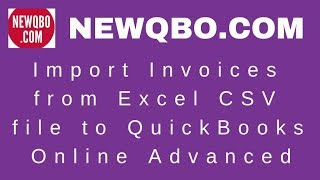 How To Import From Excel To Quickbook