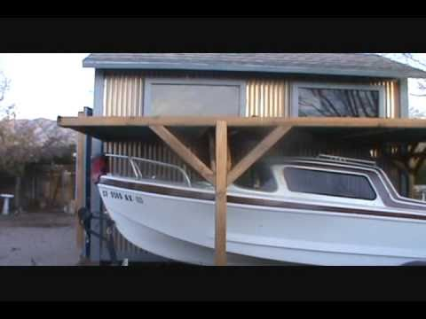 "Glasspar Del Mar ""A Little Update"", classic fiberglass cruiser Cuddy cabin - YouTube"