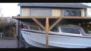"""Glasspar Del Mar """"a Little Update"""", Classic Fiberglass Cruiser Cuddy Cabin"""
