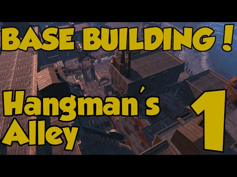 Fallout 4 Settlements - Building Hangman's Alley - Episode 1