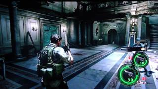 Resident Evil 5 - Lost in Nightmares DLC Co-op gameplay pt1