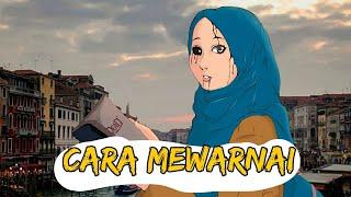 Drawing & Coloring Anime Version| Medibangpaint