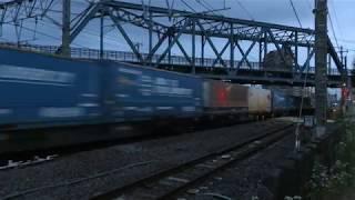 JR貨物・EF66形暗いうちの藤沢駅近く他(Japan Freight Railway)