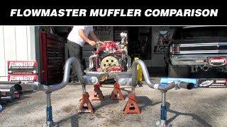 Flowmaster Muffler Comparison : Muffler Shootout 2