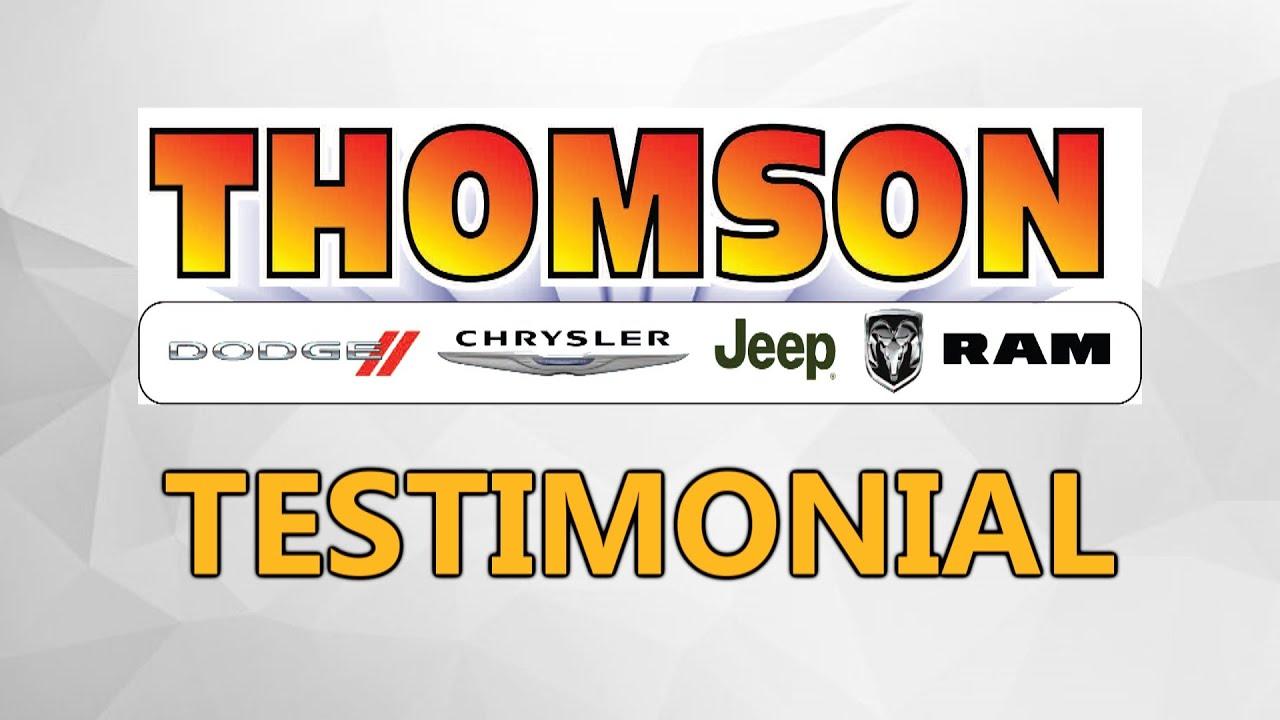 Thomson Chrysler Dodge Jeep Ram Satisfied Customers Aiken SC Evans