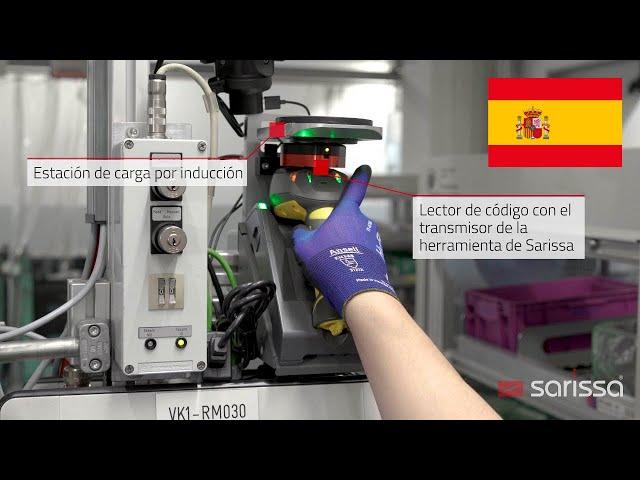 Sarissa PositionBox en acción en BMW, Munufactura de motores, Munich
