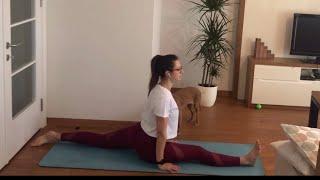 Hatha Yoga (Kalça Açıcı) - Hanumanasana