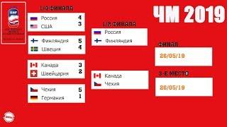Чемпионат мира по хоккею 2019. Результаты. Расписание плей-офф. Сетка. Россия – Финляндия.