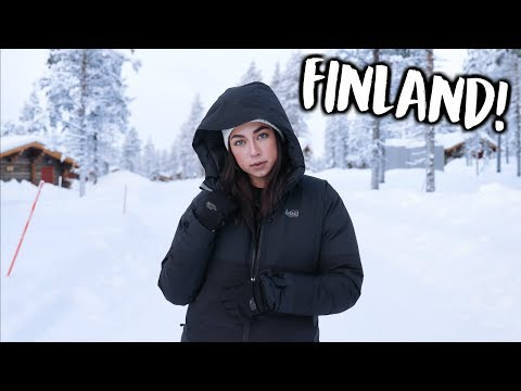 Traveling to Finland & Seeing The Northern Lights! | Jeanine Amapola