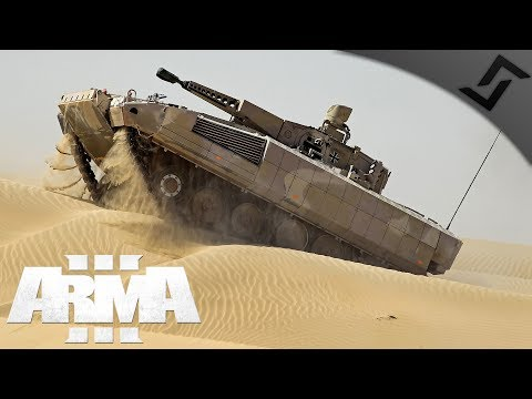 German Puma IFV Gunner - ARMA 3 - Armored 30mm Doom Cannon A