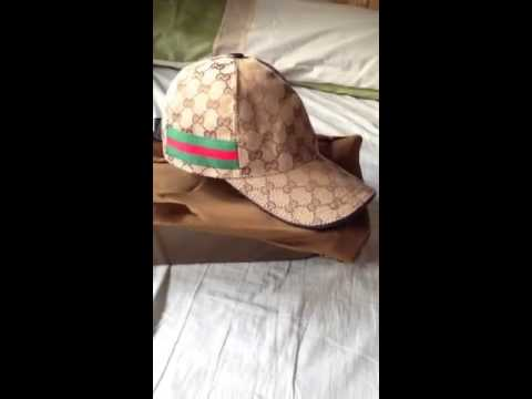 87178c9b24101c Gucci cap - YouTube