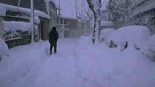 laroque des alberes 08/03/2010 snowstorm