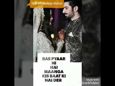 Jo Akh Lad Jaaave Sari Raat Neend Na Aave New Whatsapp Status