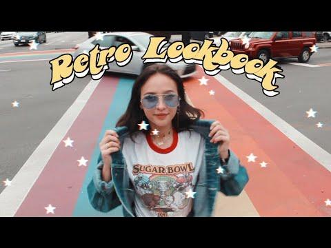 ☽ RETRO LOOKBOOK ☆  70s & 80s