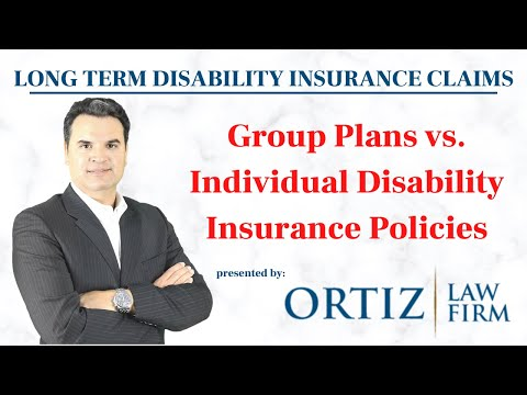 Group Plan versus Individual Disability Insurance Policy | Long Term Disability Attorney