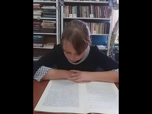 Изображение предпросмотра прочтения – АнгелинаЗайцева читает произведение «И.С. Тургенев Воробей» И.С.Тургенева