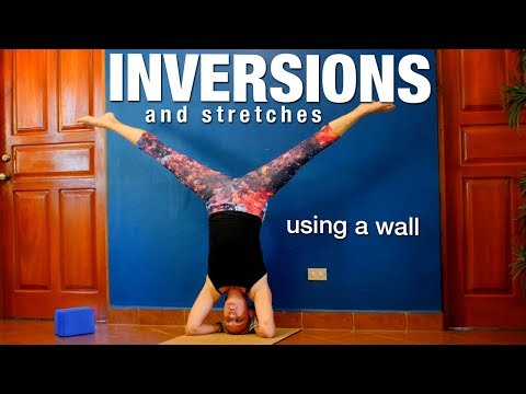 Inversions & Stretches with a Wall Yoga Class - Five Parks Yoga