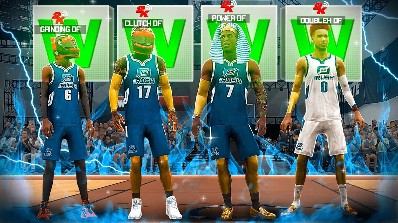 *NEW* DF 1v1 RUSH RACE in NBA 2K20 PT.2! Who's the BEST PLAYER in MY CLAN!? NBA2K20