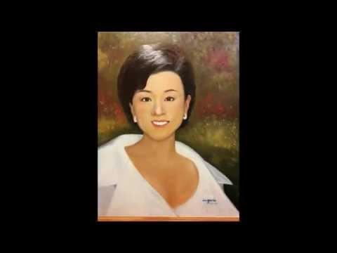 Chinese Princess Yang Lan oil Painting by Soo Agnes Loh