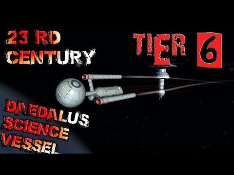 Daedalus-class Science Vessel [T2] with all ship visuals - Star Trek Online