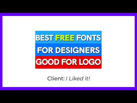 Best Free Fonts for Designers (2020).