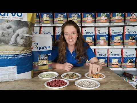 GARVO UPDATES   Vernieuwd! 5081 gemengd konijnenvoer