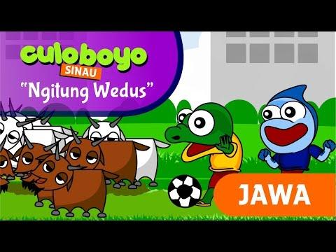 "Sinau ""Ngitung Wedus"" [ Versi Jawa ] Kartun Lucu Culoboyo"