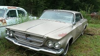 1964 Chrysler 300 K, 2dr, 413, California car, Runs, $4500, Call 1-864-348-6079