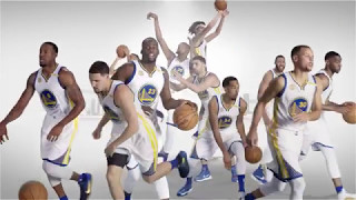 NBA 2016-17 勇士隊開場影片, 太霸氣了!!1