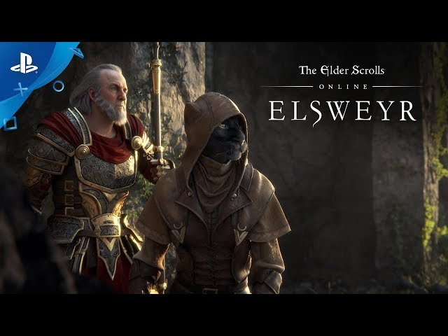 The Elder Scrolls Online: Elsweyr - Cinematic Announce Trailer | PS4