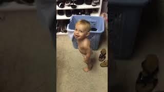 Little P in Mumum's Closet