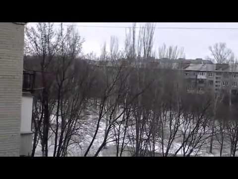 Жесть! Город Краматорск 10 02 2015