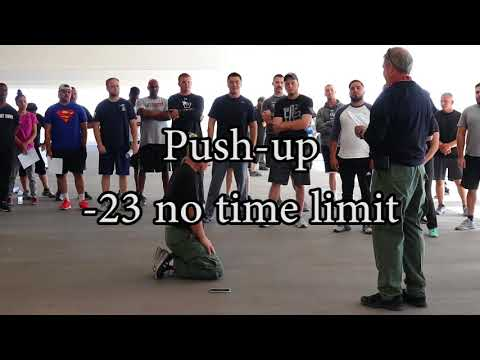 LVMPD Physical Fitness Test