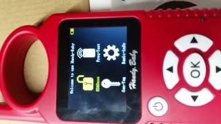 Работа с устройством для клонирования ключей авто Handy Baby(удобный малыш)