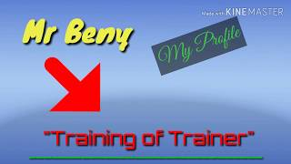 The Story of Mr. Beny ~ Training of Trainer in Madiun {14/01/2019}
