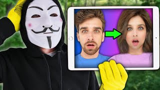 I BECAME A GIRL & TRICKED A HACKER in Real Life (Daniel vs Project Zorgo 24 Hour Challenge)