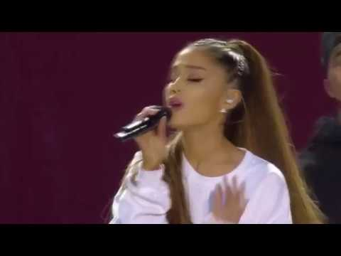 Ariana Grande - Side To Side - LIVE in Manchester  #OneLoveManchester (Live)