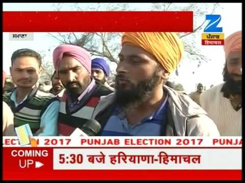 What does people of Samana think about upcoming elections in Punjab