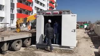 150 кВт в контейнере СЕВЕР для жилого дома г  Новосибирск, май 2017
