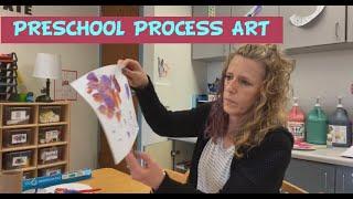 Preschool Process Art- Stamping and Print Making