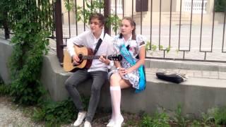 Кирилл и Лиза - карие глаза