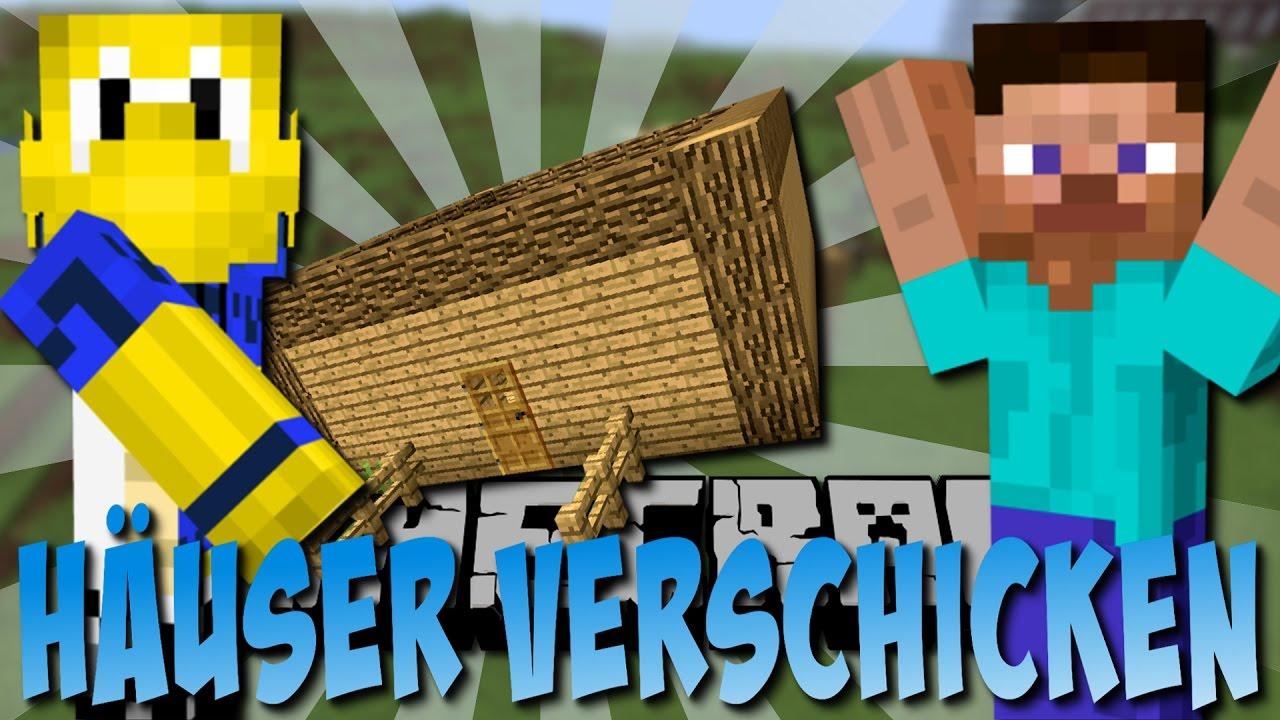 HÄUSER An FREUNDE Schicken Instant Structures Mod Deutsch YouTube - Minecraft fertige hauser einfugen