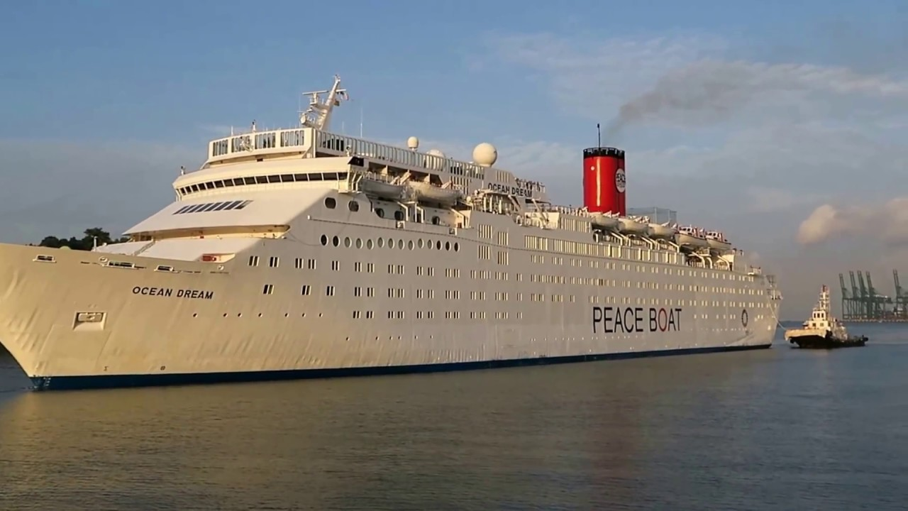 Ocean DreamPeace Boat Arrival In Singapore On Her Th Global - Cruise ship arrivals adelaide