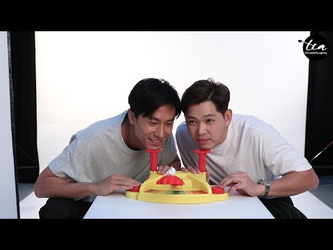 Celebrities Play: Pie Face ! (Feat. Desmond, Romeo, Jeffrey, Hong Ling, Ying Ying and Edwin Goh)