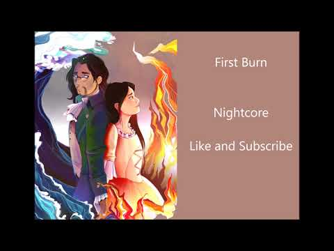 First Burn~Nightcore~Hamilton