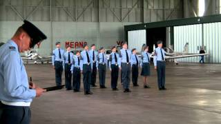134 (Bedford) Squadron Air Cadets - Wing Drill 2011