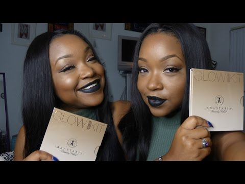 Anastasia Beverly Hills Sun Dipped Glow Kit: First Look and Impression | SHEISROYALTY