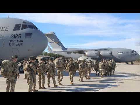 СРОЧНО! США начали переброску более 4 тысяч военных на Ближний Восток