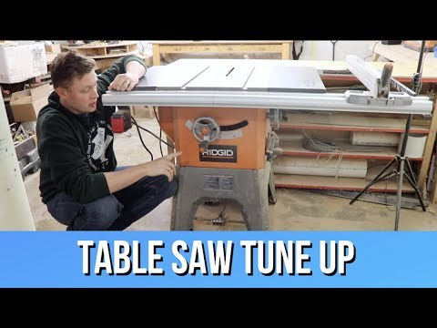Top 5 Steps for Table Saw Tune Up