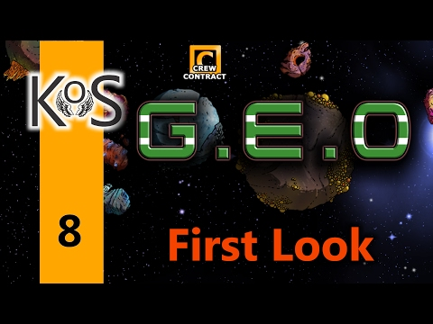Geo Ep 8: More Progress! - First Look - Let's Play, Gameplay